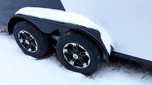 2020 Formula Trailers 7X29SNOW Snowmobile Trailer