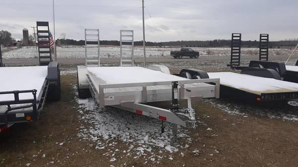 2019 H & H Trailers 20SKID Utility Trailer