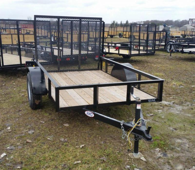 2019 American Manufacturing Operations (AMO) 5X8US081 Utility Trailer