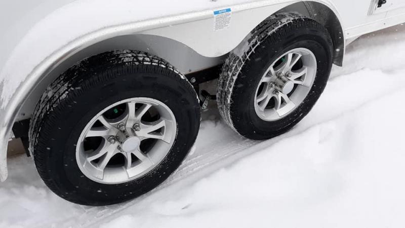 2020 Forest River, Inc. Lightning Snowmobile Trailer