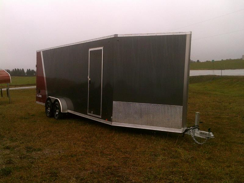 2019 Look Trailers 7X27Snowmobile Trailer