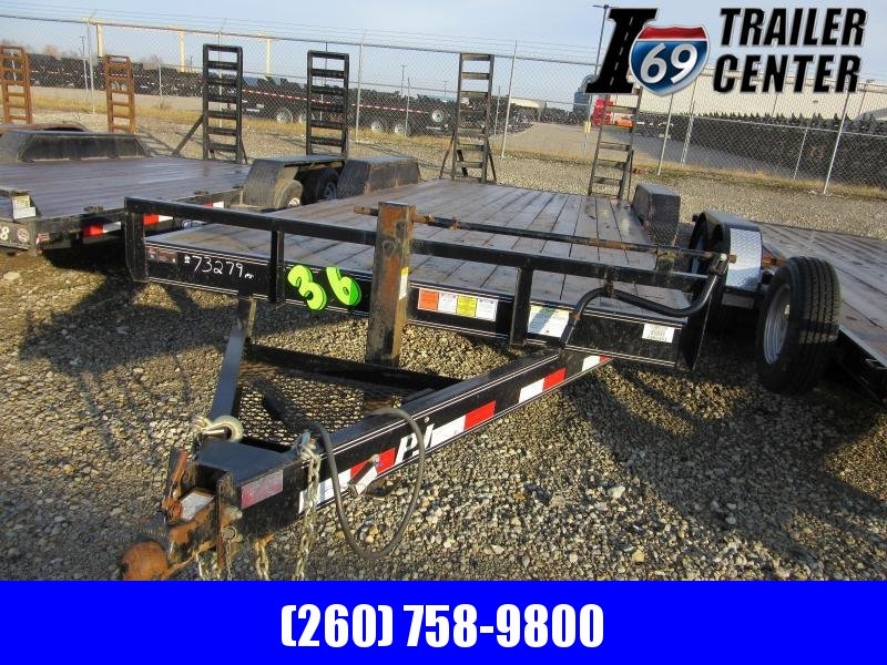 2017 PJ Trailers 7 x 20 Implement Equipment Trailer