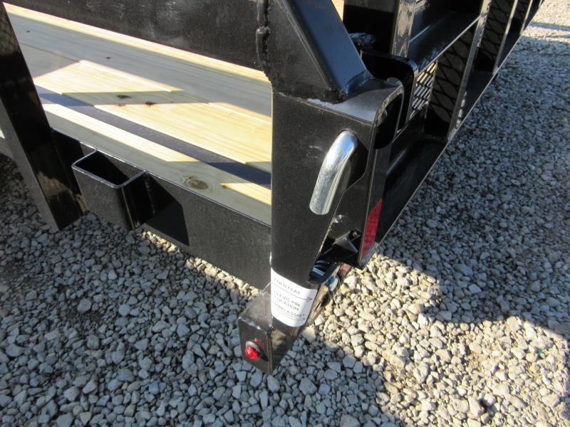 2020 Sure-Trac 7 X 18 TA 10K Tube Top Utility Utility Trailer