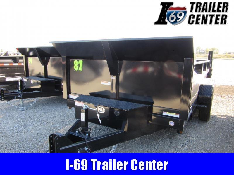 2020 Sure-Trac 82 x 14 14K HD Low Profile Dump (Scissor) Dump Trailer