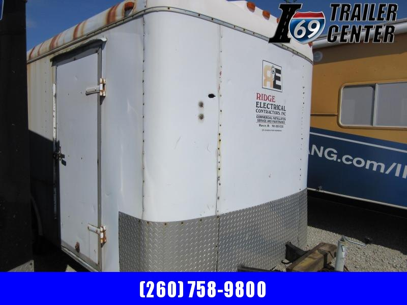 1993 Other 7 x 16 enclosed double rear doors cargo Enclosed Cargo Trailer