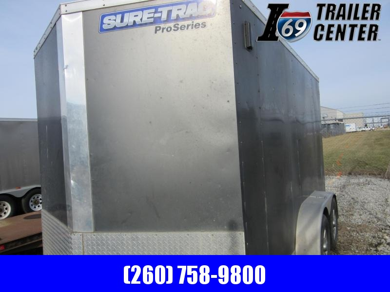 2017 Sure-Trac 7 x 12 TA Pro Series Wedge Front Cargo Enclosed Cargo Trailer