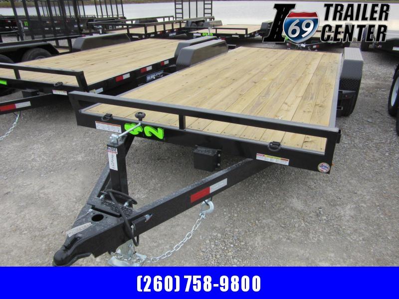2020 Sure-Trac 7 X 18 Wood Deck Car Hauler  10k