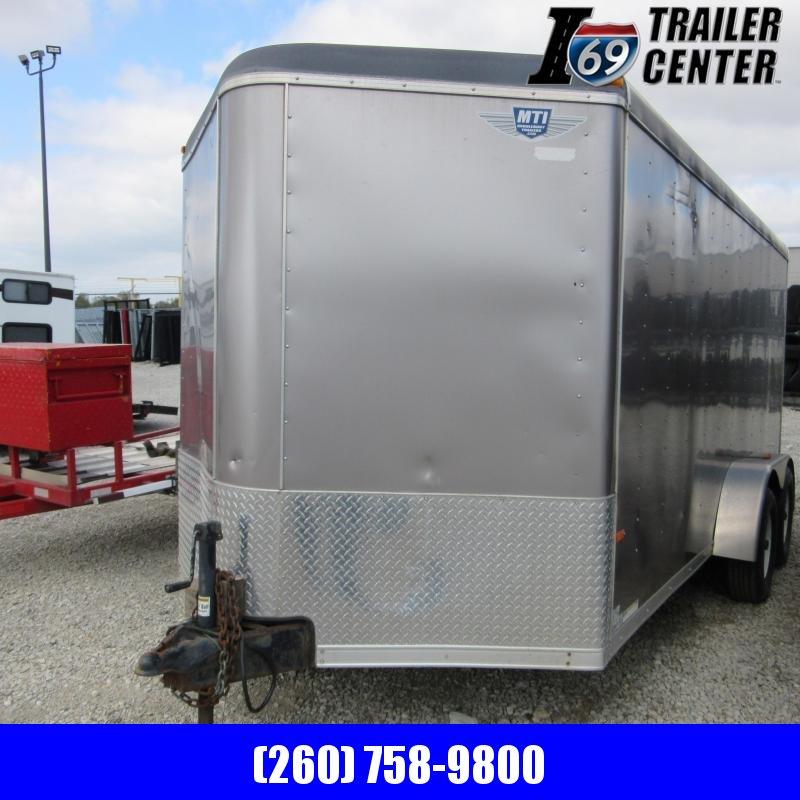 2013 MTI Trailers 7 X 14 ENCLOSED Enclosed Cargo Trailer