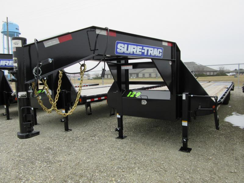 2019 Sure-Trac 8.5x25+5 LowPro Deckover Tandem GN 22.5K