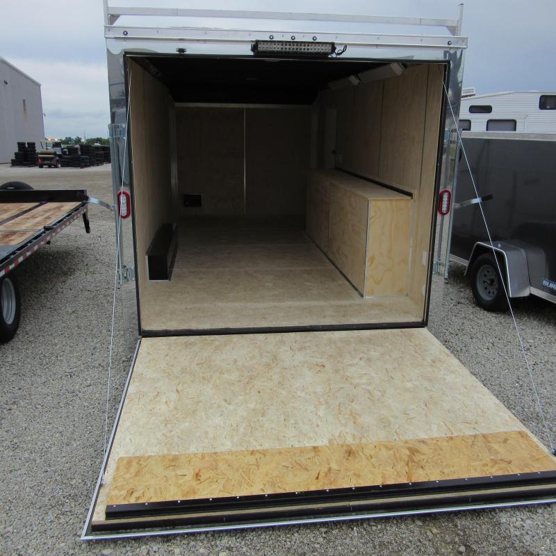 2020 Sure-Trac 8.5 x 18 10K Contractor Pro Bullnose Enclosed Cargo Trailer