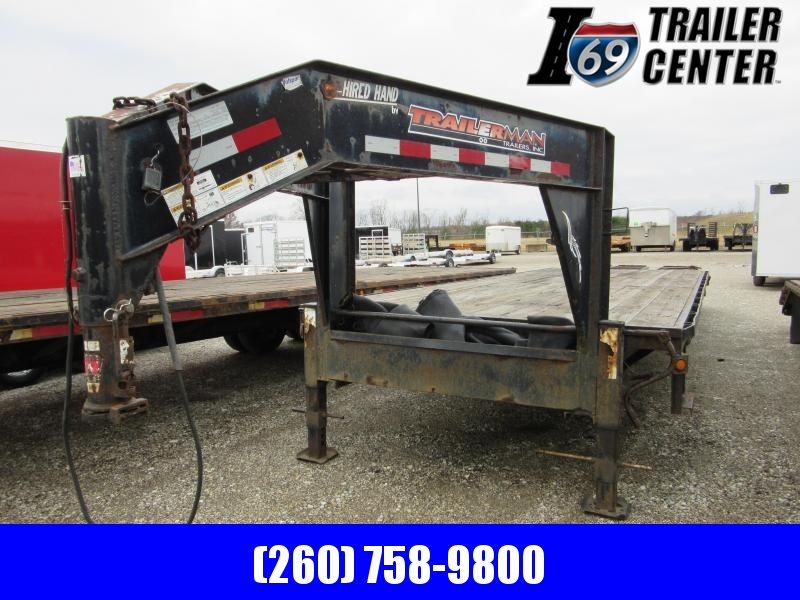 2008 T-Series 25+5 14K gvwr Equipment Trailer