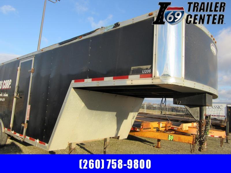2008 Cargo Express Enclosed GN 8.5 x 28 15.6K Enclosed Cargo Trailer