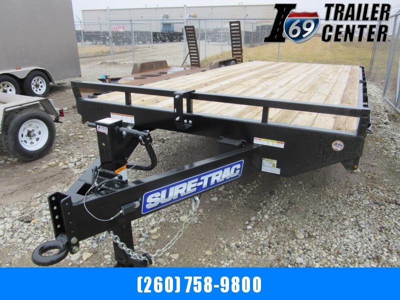 2019 Sure-Trac 8.5 X 16 Flat Deck Deckover  10K