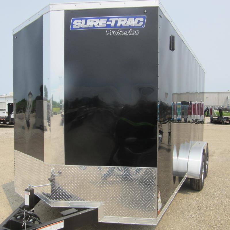 2019 Sure-Trac 7 x 16 Pro Series Wedge Cargo TA 10K