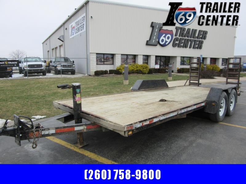 2002 CornPro 7 x 20 14K Equipment Equipment Trailer