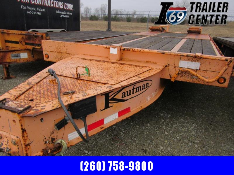 2007 Kaufman Trailers 8.5 x 20+5 Equipment Trailer