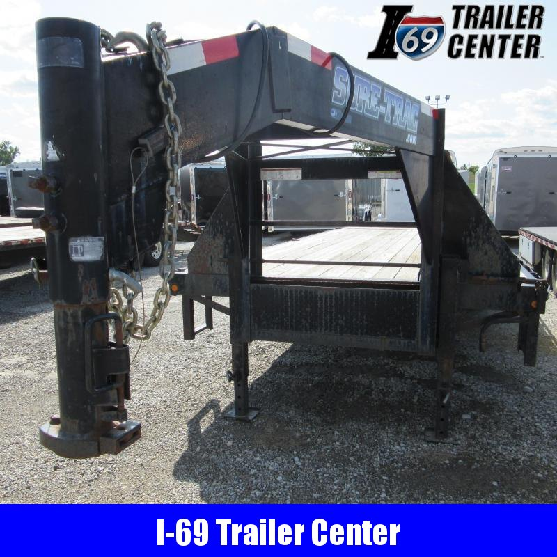 2012 Sure-Trac GN power tail Equipment Trailer
