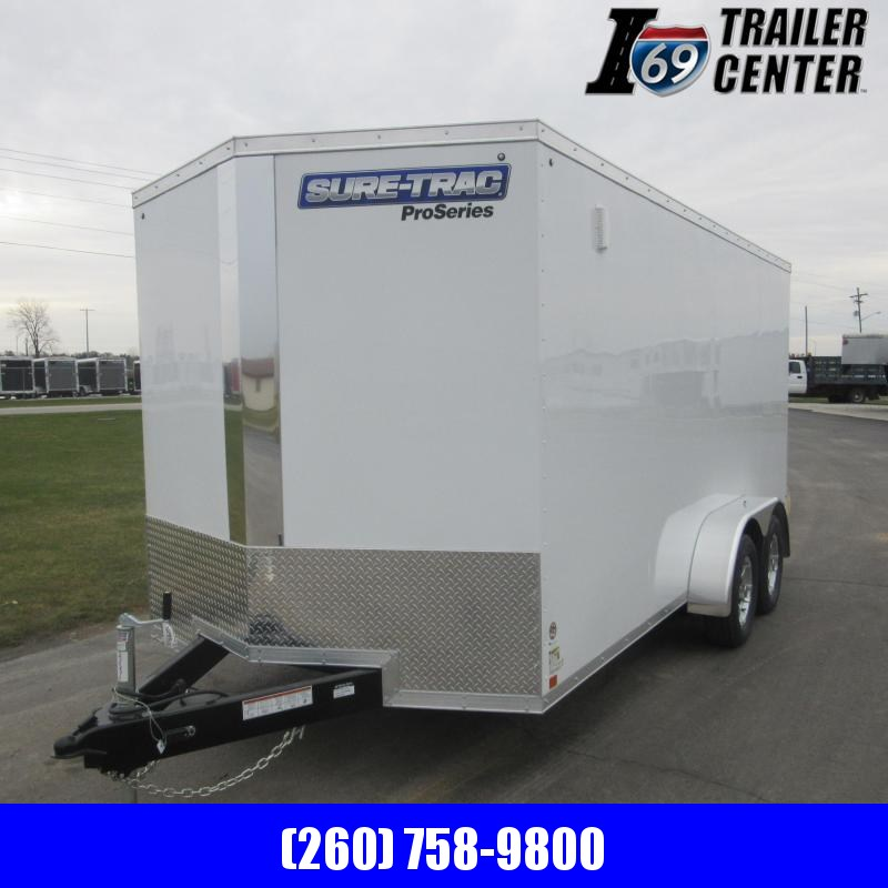 2019 Sure-Trac 7 x 16 Pro Series Wedge Cargo TA 7K