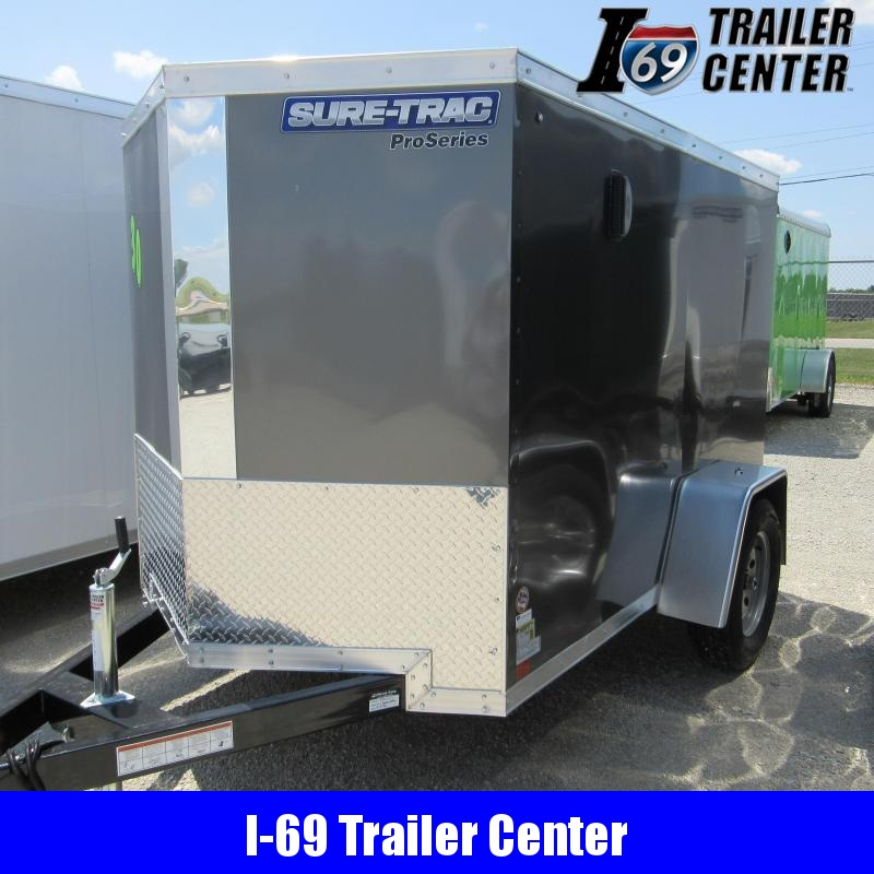 2020 Sure-Trac 5 x 10 Pro Series Wedge Front - SA Enclosed Cargo Trailer