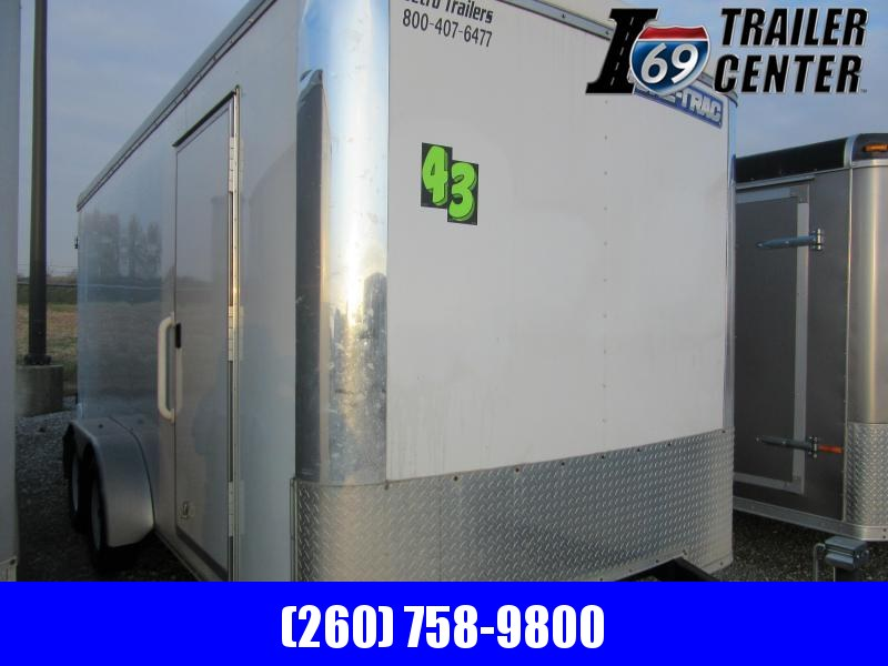 2020 Sure-Trac 7 x 16 TA Pro Series Round Top Cargo Enclosed Cargo Trailer