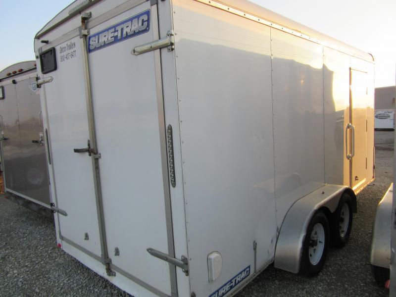 2020 Sure-Trac 7 x 16 TA Pro Series Round Top Cargo Enclosed Cargo Trailer