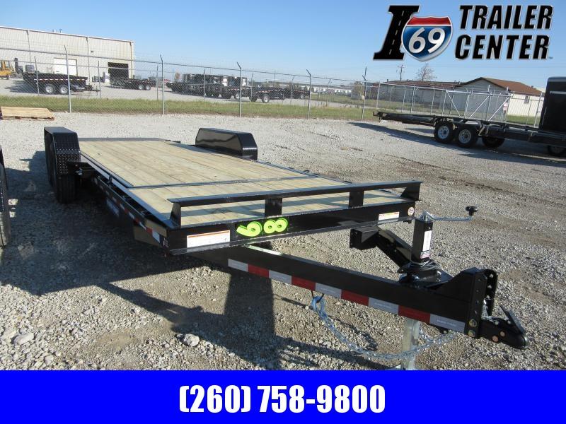 2020 Sure-Trac 82 X 18 4 14K Tilt Bed Equipment Equipment Trailer