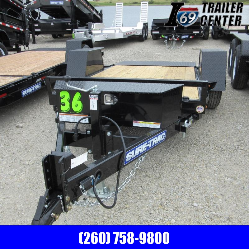 2020 Sure-Trac 5 X 10 5K Single Axle Tilt Bed Equipment Equipment Trailer