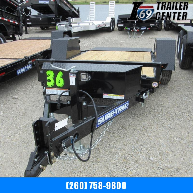 2020 Sure-Trac 5 X 10 6k Single Axle Tilt Bed Equipment Equipment Trailer