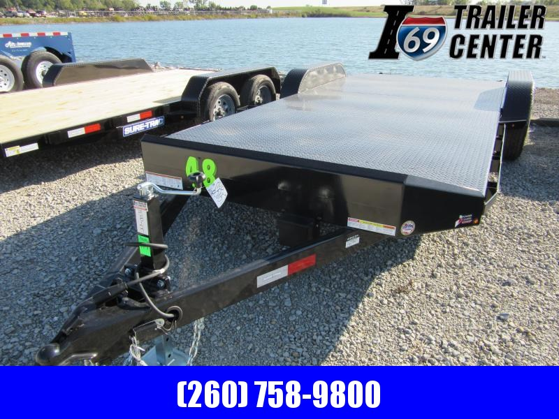 2020 Sure-Trac 7 x 18 Steel Deck Car Hauler  10k