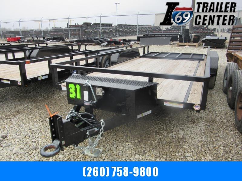 2019 Sure-Trac 82 x 16 7k pintle tube top Utility Trailer