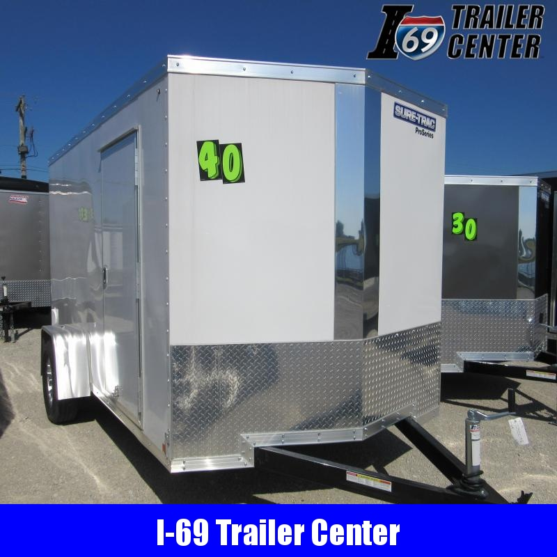 2020 Sure-Trac 6 x 12 Pro Series Wedge Front - SA Enclosed Cargo Trailer
