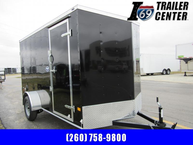 2020 American Hauler Arrow 6 x 12 double rear doors Enclosed Cargo Trailer