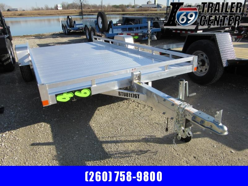 2020 Bear Track Products BTU81176T-2NABE2G Utility Trailer