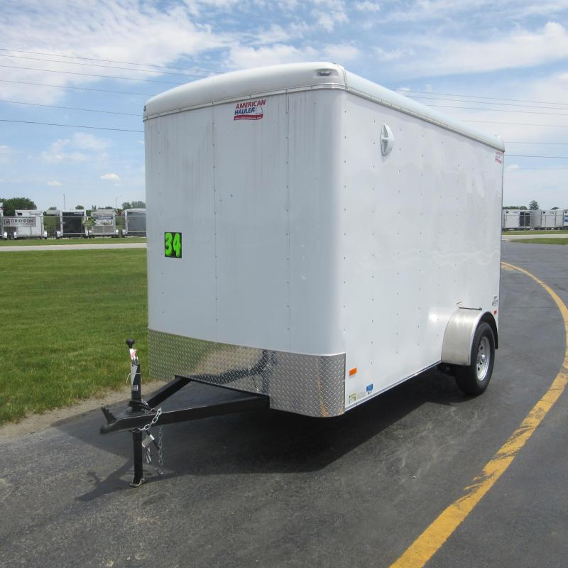2019 American Hauler 6 x 12 Air Lite Model Round Top Style Enclosed Cargo Trailer