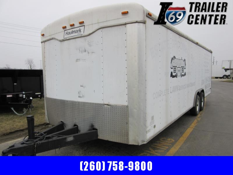 2002 Haulmark 8.5 x 24 enclosed Haulmark round top Enclosed Cargo Trailer