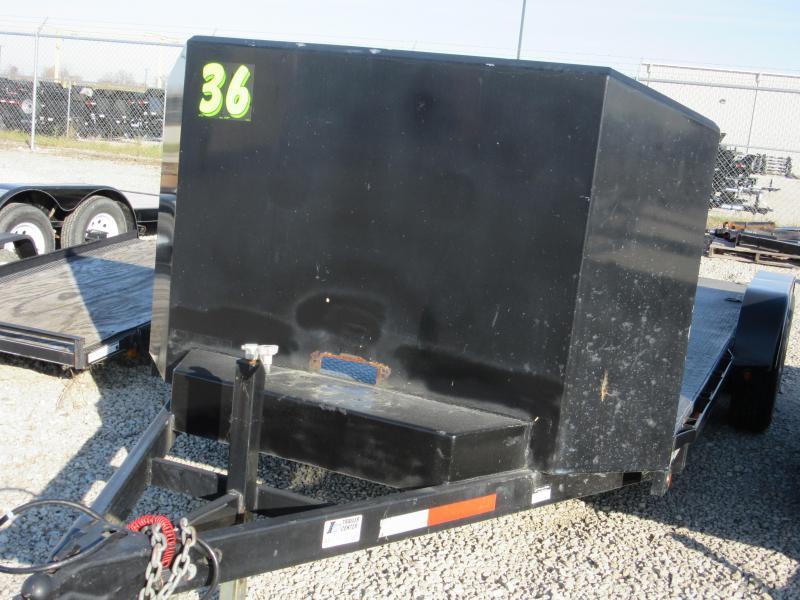 2009 Sure-Trac ST8218CHS-B-100 Car / Racing Trailer