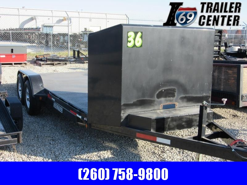 2009 Sure-Trac ST8218CHS-B-100 Car / Racing Trailer