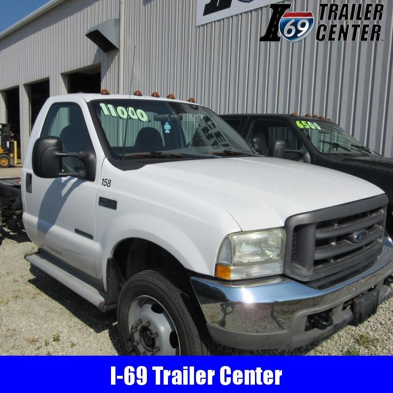 2002 Ford F450 Diesel Truck