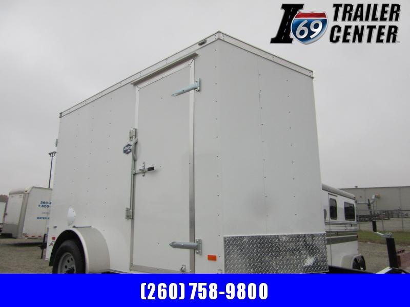 2020 American Hauler 6 x 10 single axle double rear doors Enclosed Cargo Trailer