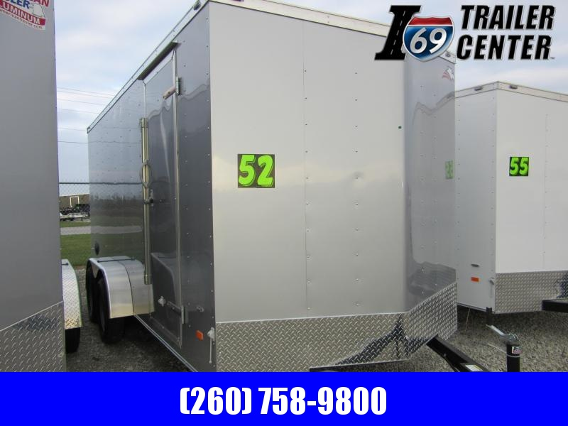 2020 American Hauler 7 x 16 Arrow Enclosed Cargo Trailer