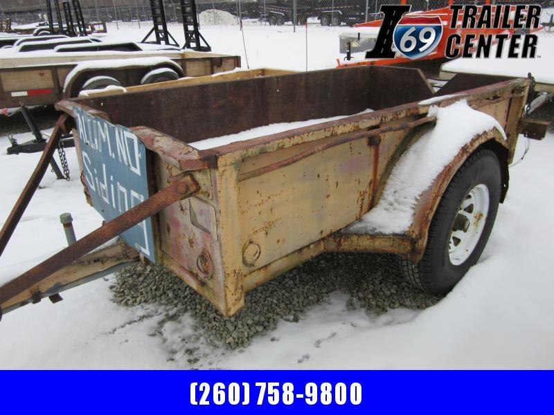 1965 Other Hubb Brand Utility Single axle w/Brakes Utility Trailer