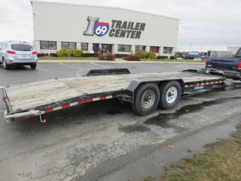 2015 Sure-Trac 82 x 24 car hauler Car / Racing Trailer