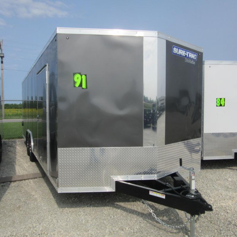 2019 Sure-Trac 8.5x24 Pro Series Wedge C. Hauler TA 10K