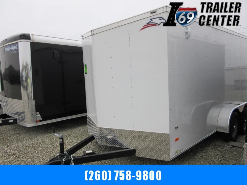 2020 American Hauler Industries 7 x 16 Arrow Enclosed Cargo Trailer