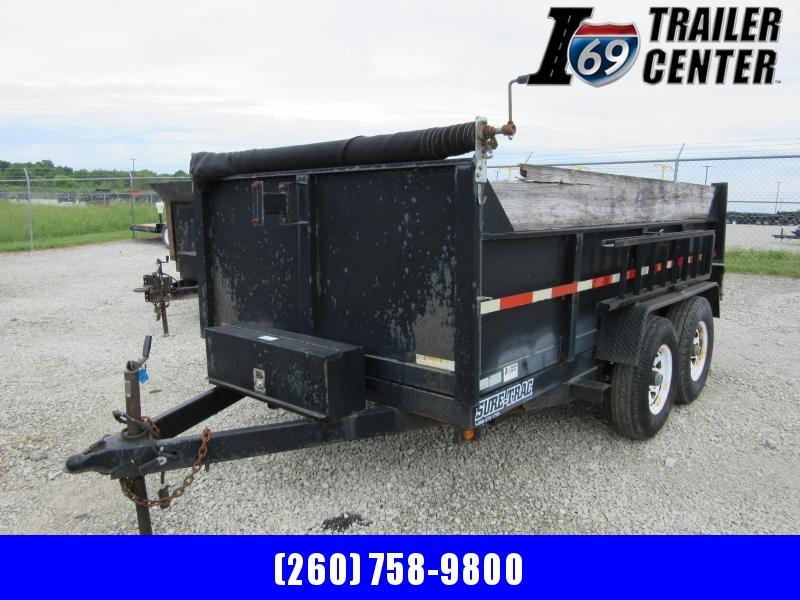 2008 Sure-Trac 82x12 12K Dump Dump Trailer