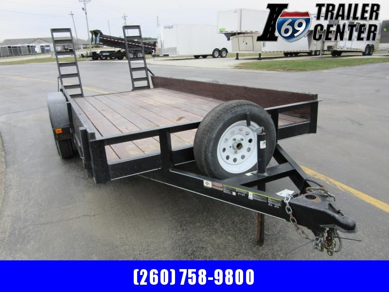 2017 Carry-On 7 x 16 7K Utility Trailer