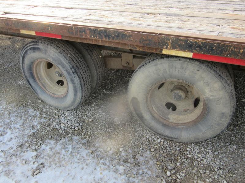 1998 Other 8.5 x 30 Deckover Gooseneck Equipment Trailer