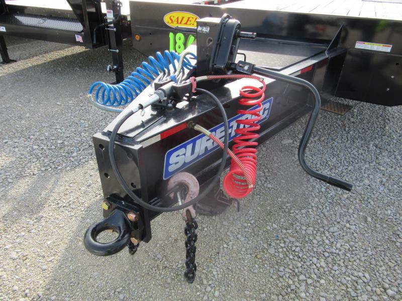 2018 Sure-Trac 8.5x23+5 20Ton Air Brake Deckover Tandem