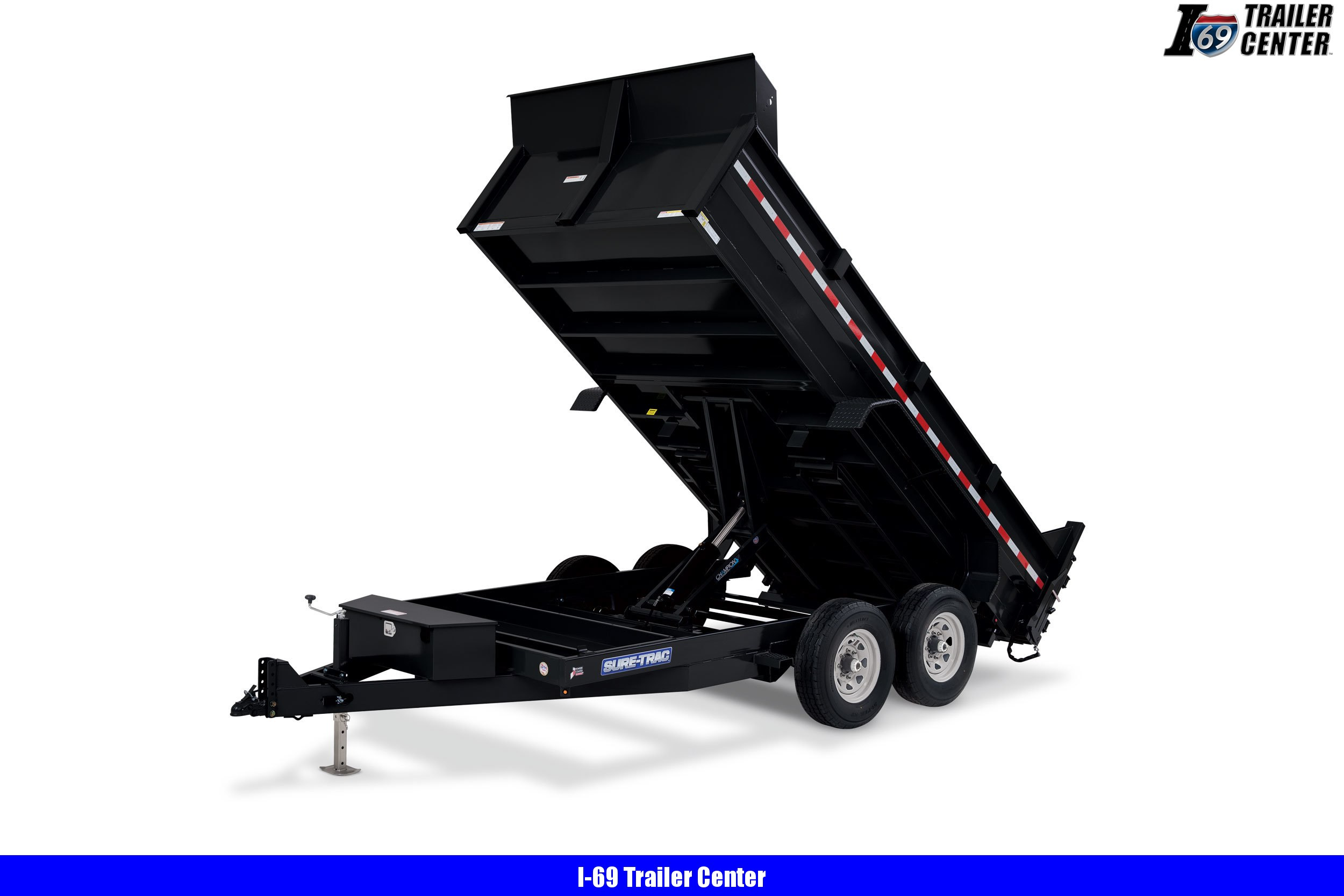 2020 Sure-Trac 82 IN X 14 LP 14K Scissor Dump