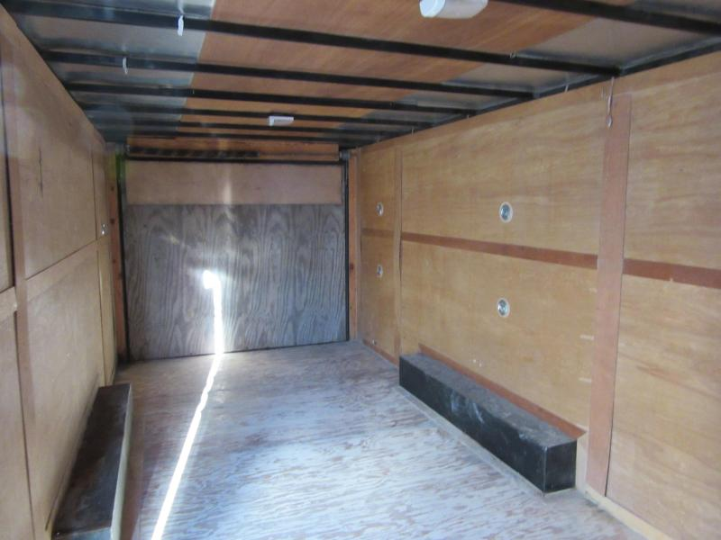 2012 Sure-Trac 8.5 x 20 10K Wedge Style Enclosed Cargo Trailer